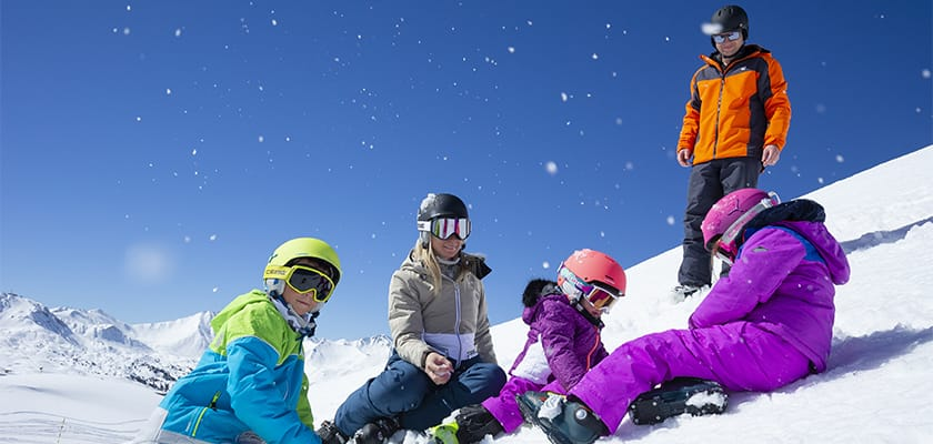 La Plagne Family In The Snow.jpg